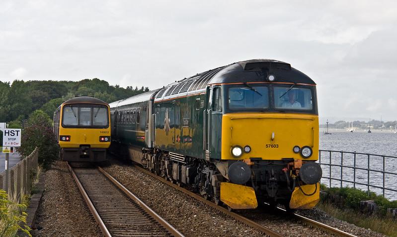 57603, 17.50 Exeter St David's-Penzance, Starcross, 22-7-17. 143612, 17.18 Paignton-Exmouth.
