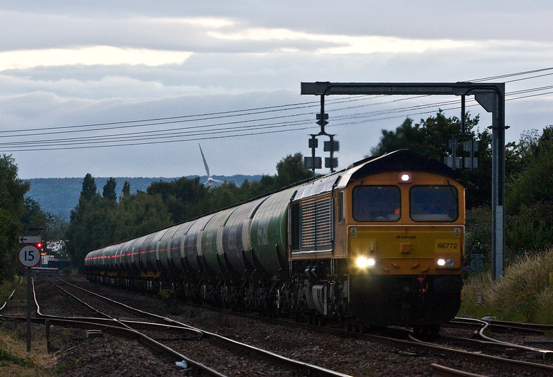 66772, 17.58 Cardiff Docks-Port Clarence, Lydney Loops, 13-7-17.