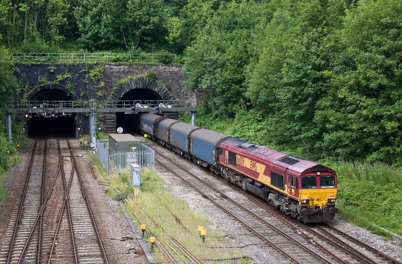 66059, 09.30 Dee Marsh-Margam, Gaer Junction, Newport, 13-7-17.