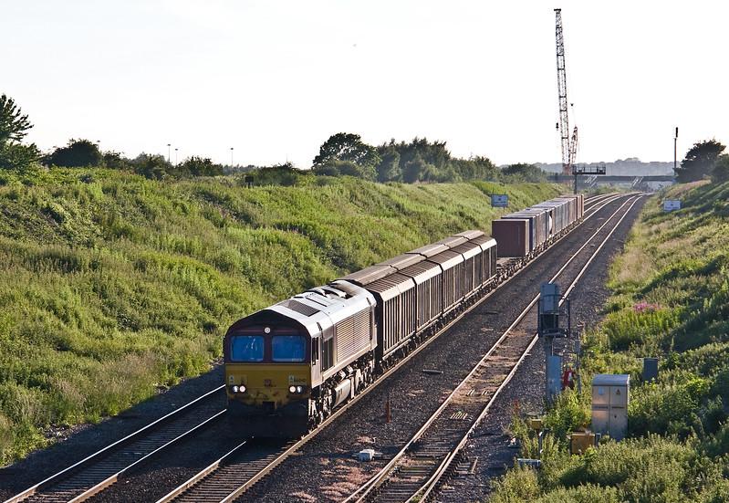 66040, 18.58 Newport Alexandra Dock Junction Yard-Didcot Yard, Caldicot, 13-6-17