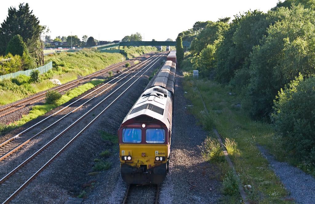 66040, 18.58 Newport Alexandra Dock Junction Yard-Didcot Yard, Undy, 13-6-17.