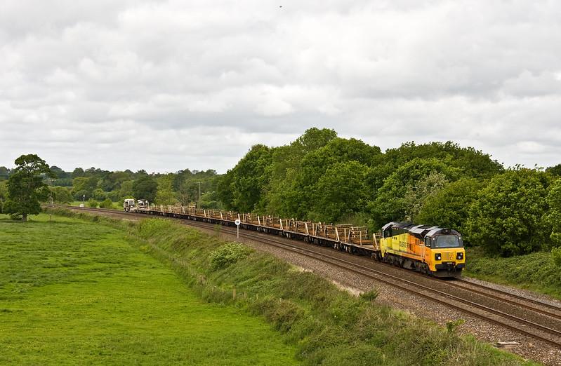 70801, 08.50 Par-Westbury, Silverton, near Exeter, 21-5-17.