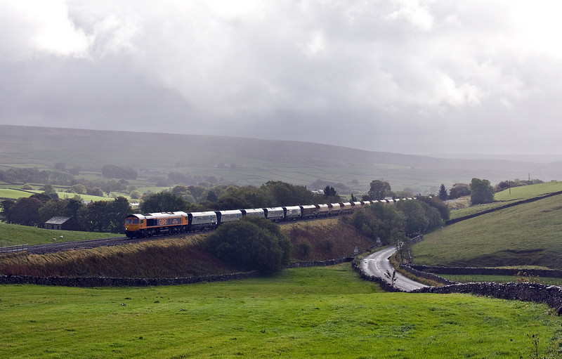 66726, 11.25 Arcow Quarry-Pendleton (Manchester), Horton-in-Ribblesdale, 2-10-17.