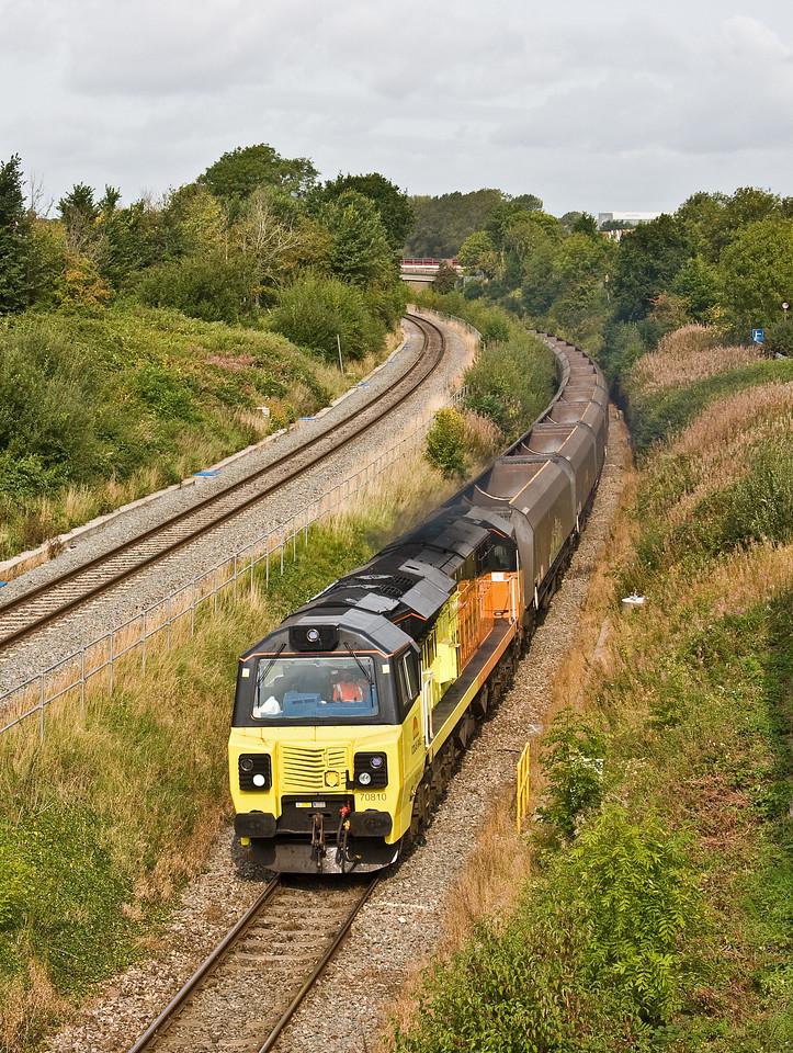 70810, 09.00 Aberthaw Power Station-Avonmouth Bulk Handling Terminal, Patchway, Bristol, 7-9-17.