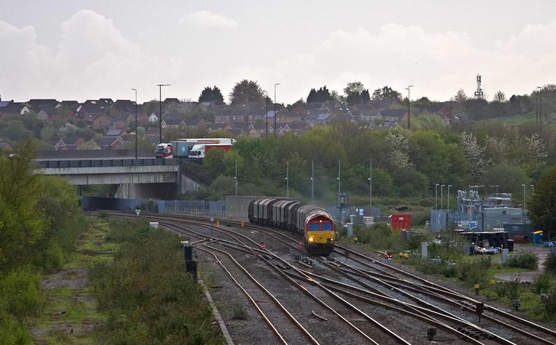 66114, 16.51 Margam Yard-Hartlepool BSC, Severn Tunnel Junction, 26-4-18.