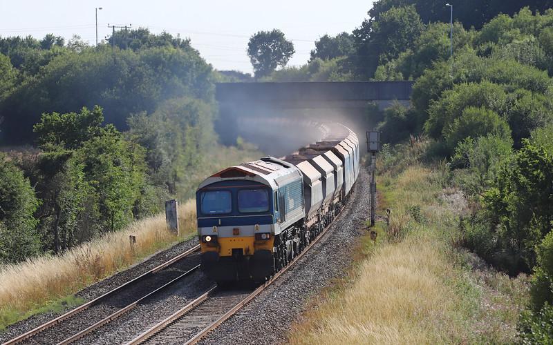 59104, 16.32 Merehead  Quarry=Colnbrook,, Berkley Lane, Berkley, near Frome, 6-8-18.