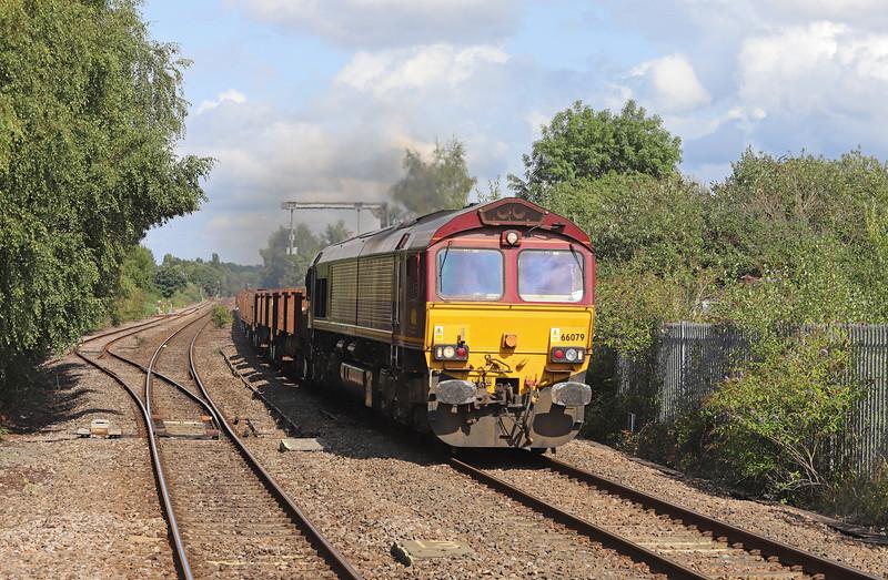 66079, 10.22 Corby-Margam, Lydney, 29-8-18.