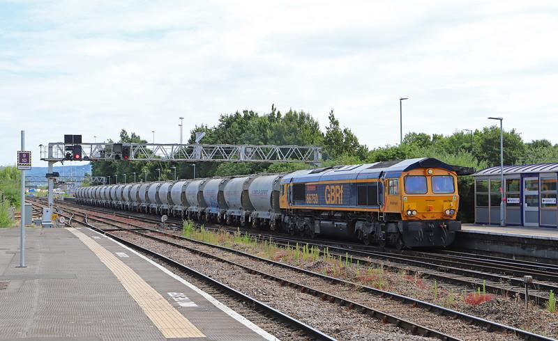 66750, 13.02 Avonmouth Hanson's Siding-Cardiff Pengam Yard, Gloucester, 4-7-18.