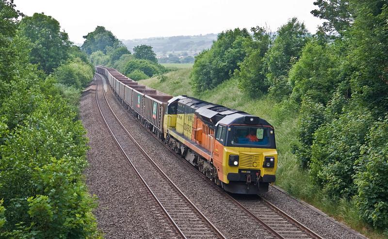 70808, 13.44 Exeter Riverside Yard-Whatley Quarry, Whiteball 4-6-18.