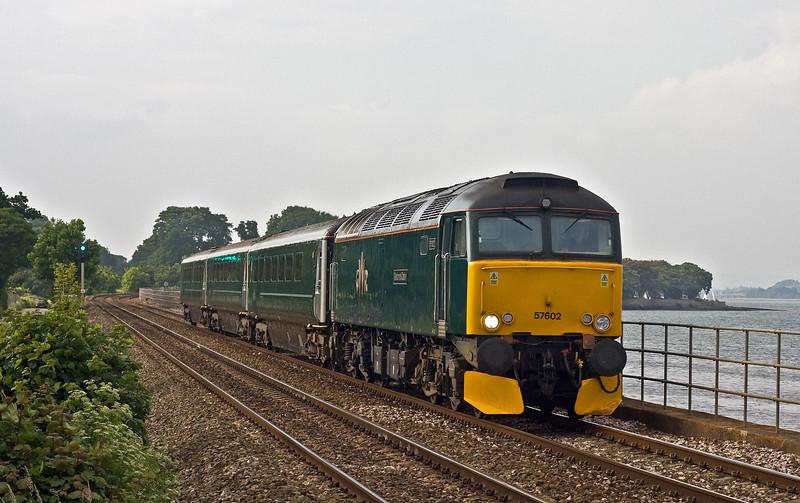 57602, 17.51 Exeter St David's-Penzance, Powderham, near Exeter, 9-6-18.