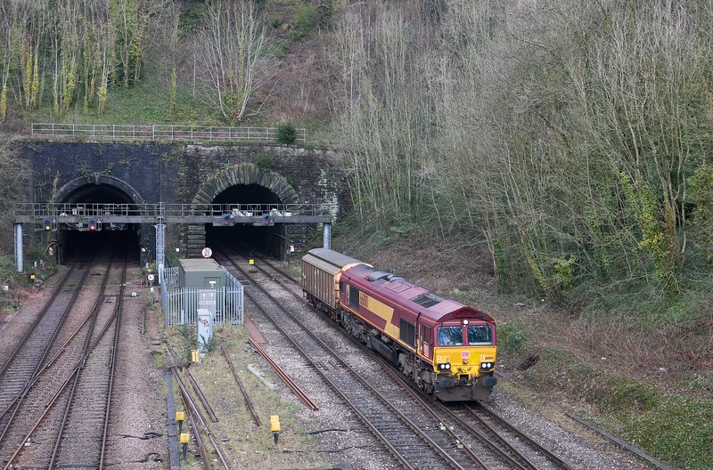 10.33 Llanwern Exchange Sidings-Cardiff Tidal Yard, Gaer Junction, Newport, 23-3-18. Early.