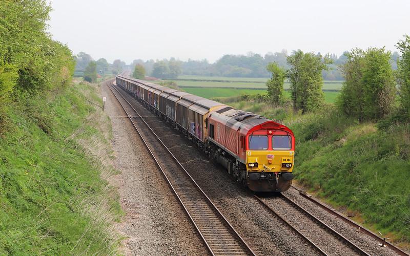 66104, 11.03 Burton-on-Trent-Cardiff Tidal, Churcham, near Gloucester, 23-4-19.