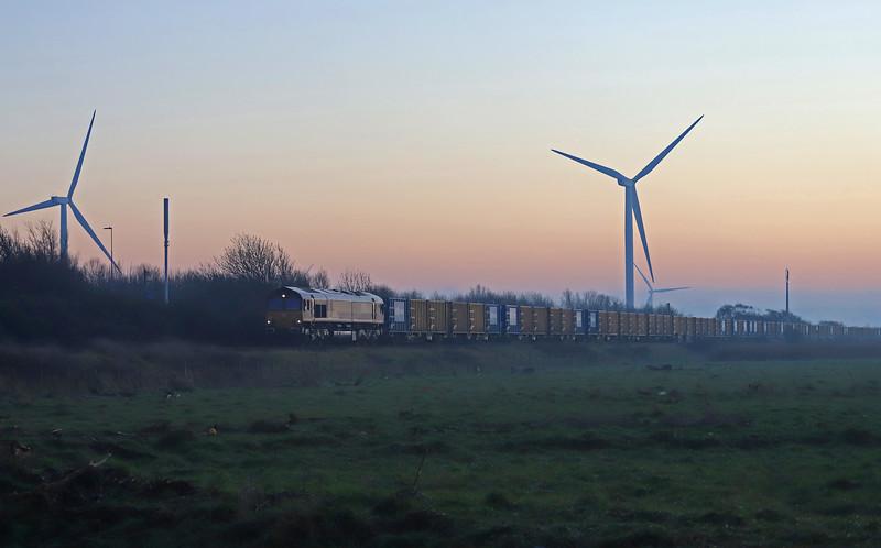 66080, 10.53 Brentford Waste Transfer Station-Severnside Energy Recovery Centre (Avonmouth), Avonmouth, 30-12-19.