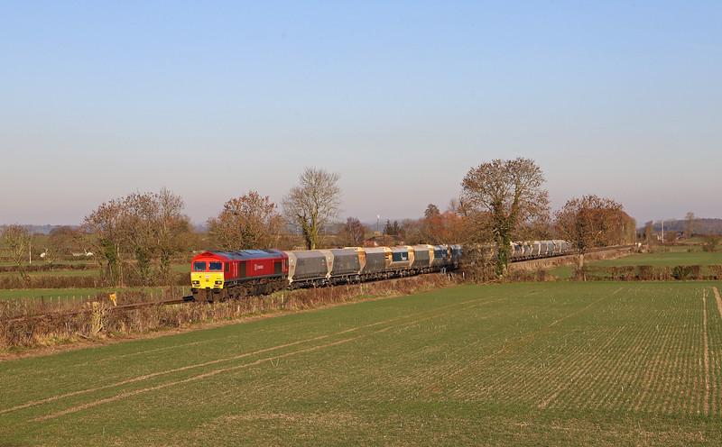 59203, 11.25 Allington (Kent)-Whatley Quarry, Cowleaze Lane, Edington, near Westbury, 15-2-19.