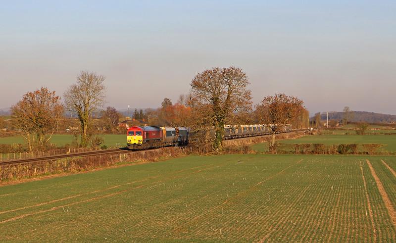 59203, 11.25 Allington (Kent) -Whatley Quarry, Cowleaze Lane, Edington, near Westbury, 14-2-19.