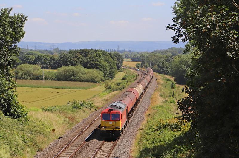 60017, 11.15 Westerleigh-Robeston Sidings, Highnam, near Gloucester, 5-7-19.