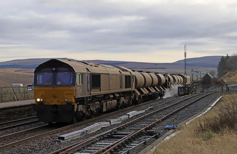 66434/66426, 16.21 Carlisle Kingmoor Traction Maintenance Depot-Carlisle Kingmoor Traction Maintenance Depot- Ribblehead Station, 13-11-19.