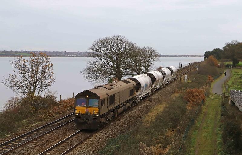 66143, 10.35 Parkandillack-Exeter Riverside Yard, Powderham, near Exeter, 9-12-20.