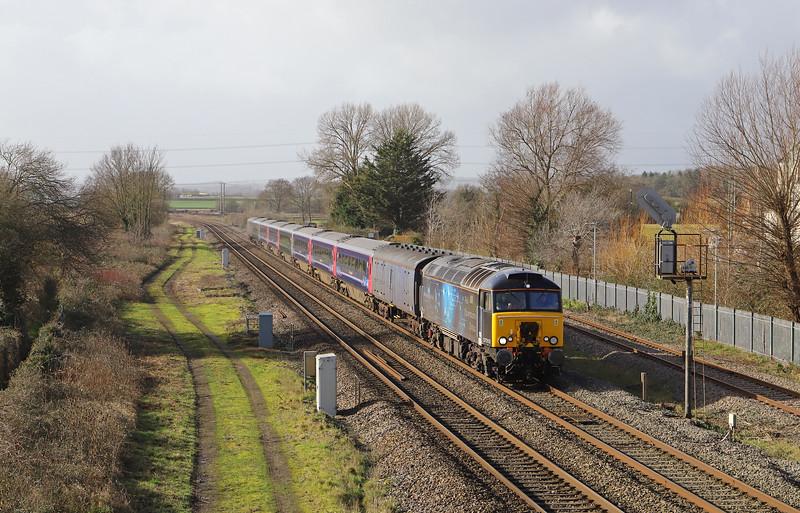 57312, 11.00 Plymouth Laira Traction and Rolling Stock Maintenance Depot-Long Marston (Warwickshire),  Norton Fitzwarren, near Taunton, 10-2-20.
