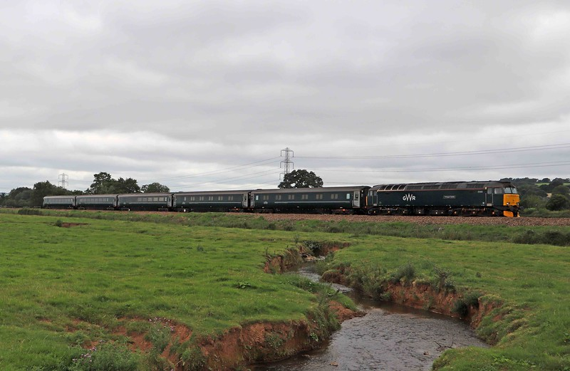 57603, 10.00 Penzance Traction and Maintenance Depot-Reading Traincare Depot, via Bristol Parkway, Pugham Crossing, near Burlescombe, 15-7-20.