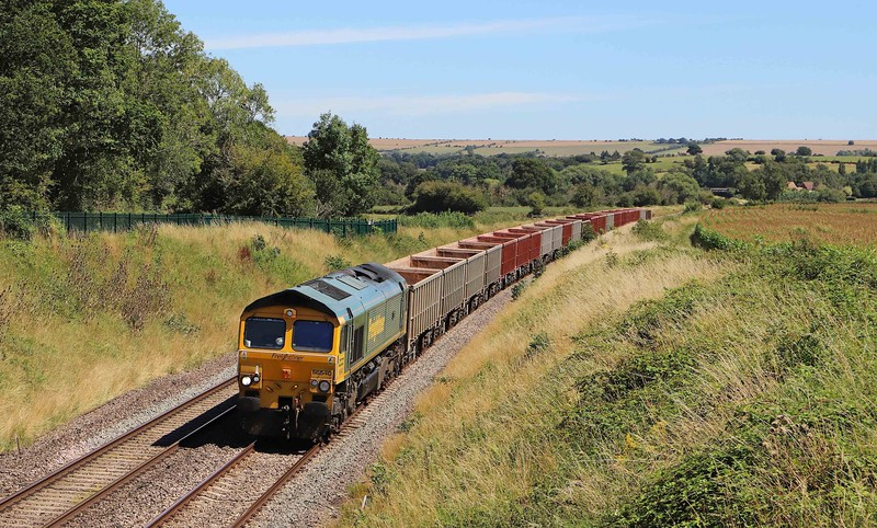 66540, 11.45 Oxford Banbury Road-Whatley Quarry, Great Cheverell (Wilts), 30-7-20.