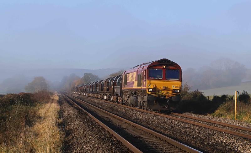 66015, 05.21 Margam-Corby, Broken Cross, near Westbury-on-Severn, 4-11-20.<br /> <br /> SHOW MORE