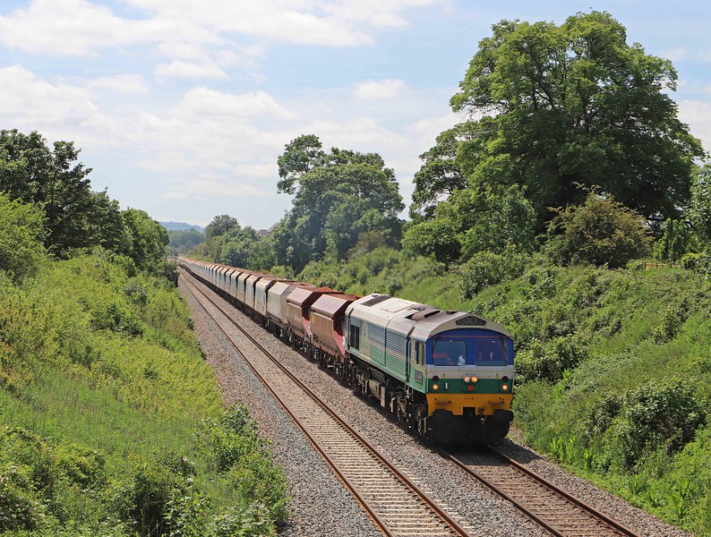 59004, 12.03 Merehead Quarry-Theale, Styles Hill, Frome, 8-6-21.