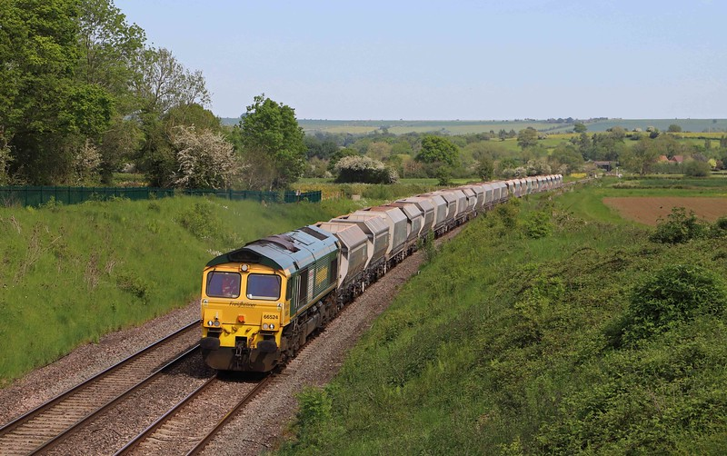 66524, 11.20 Allington-Whatley Quarry, Witchcombe, Great Cheverell, near Devizes, 1-6-21. 20min late.