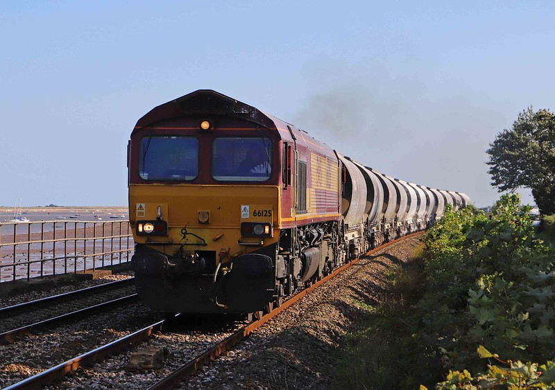 66125, 14.16 Burngullow-Exeter Riverside Yard, Powderham, near Starcross, 26-8-21.
