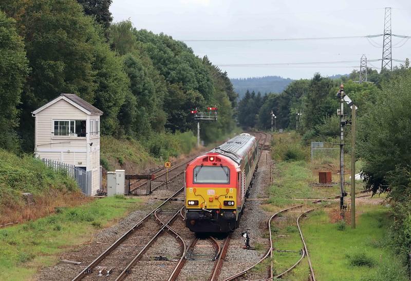 67015, 17.13 Cardiff Central-Holyhead, Abergavenny, 9-9-21.