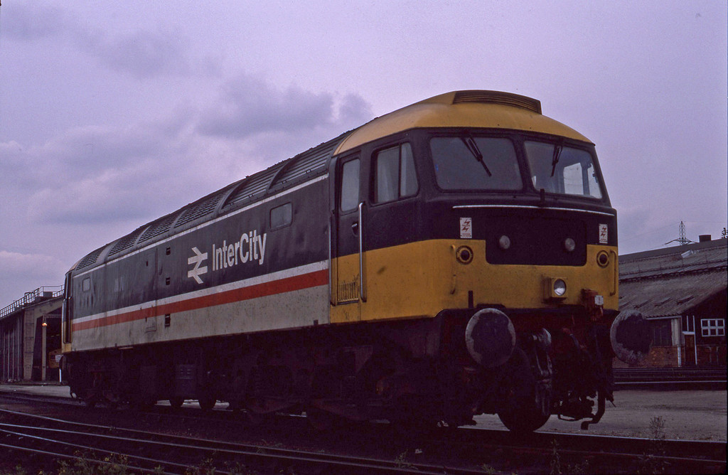 UID 47, stabled, London Stratford TMD, 13-9-86.