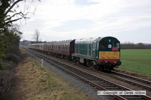 2011, Great Central Railway, 12th February