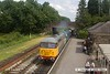 160723-064     UK Rail Leasing (UKRL) class 56 no 56098 leads class 46 no D182 (46045) through Butterley station with the 14.20 Swanwick to Hammersmith.