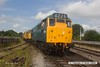 160723-021     Booked for the 10.35 from Swanwick Junction, class 31's no's 31162 (5580) and 31233 make their way out of the yard.