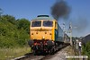 170618-023  Brush type 4 No 1500 (class 47 No 47401) North Eastern, seen at Swanwick, heading towards Butterley.
