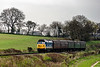 50027 at Wanders Crossing, with the 15:00 Alton - Alresford, <br /> during the Diesel Gala on 22nd April 2016.