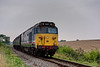 50027 at Northside Lane, with the 15:55 Alresford - Alton, <br /> during the Diesel Gala on 5th September 2014.