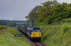 50027 passes the Wanders Crossing whistle board, with the 12:30 Alresford - Alton, <br /> on 19th May 2013.