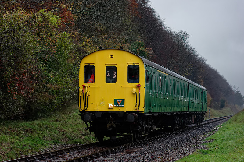 1125 approaching Ropley at 10:55 on 22nd November 2014.<br /> There's something wrong with my records on this one.