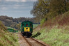 1125 approaches Wanders Crossing with the 11:00 Alton - Alresford, <br /> during the Diesel Gala on 23rd April 2016.