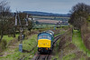 37905 taking 45132 back to Alresford, on 28th April 2013. <br /> The Peak had been on display at Ropley during the Diesel Gala.