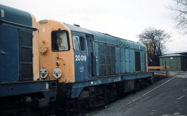 20019 withdrawn at Toton.