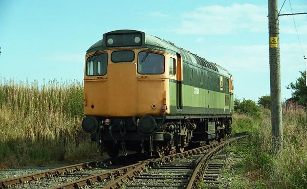 27024 running round at Bridge of Dunn. 08.09.02