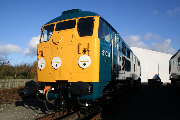 31018 on show at the NRM. 13.11.05