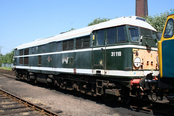 31110 in Barrow Hill yard. 10.06.06