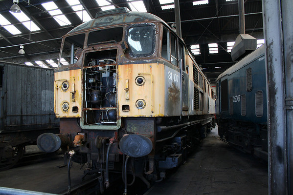 31107 in Barrow Hill shed. 10.06.06