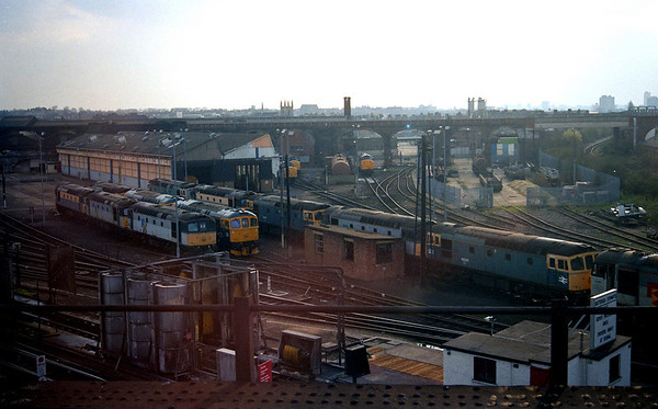 33020 amongst many other cromptons at Stewarts Lane.