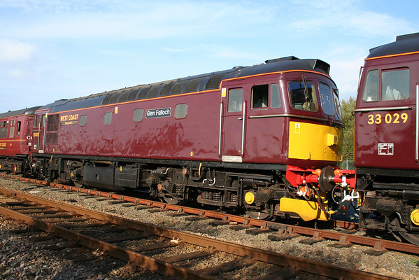 33025 at Aberystwyth. 18.10.06