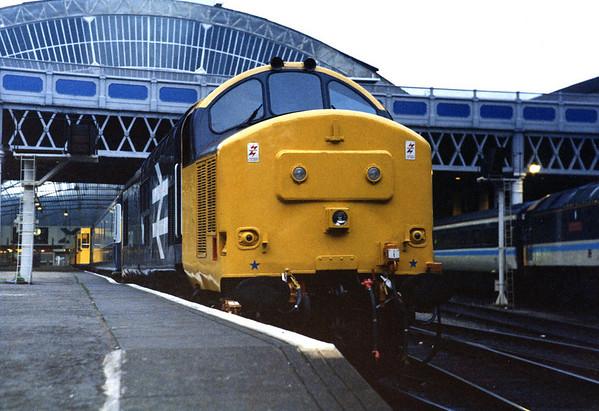 37401 at Glasgow Queen Street on ECS duties.