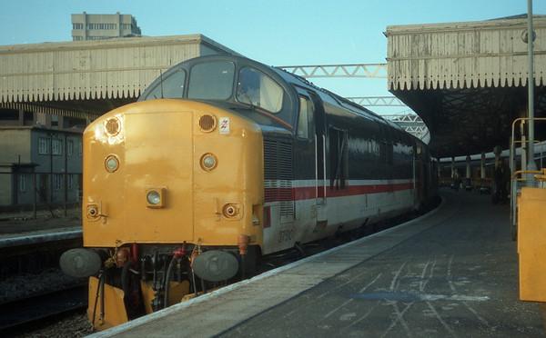 37510 at Aberdeen on the sleeper ECS.